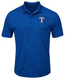 Majestic Men's Texas Rangers First Hit Polo Shirt