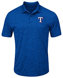 Majestic Men's Texas Rangers First Hit Polo Shirt