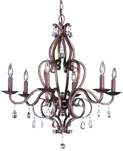 Feiss 6 Light Mademoiselle Chandelier Lighting Lamps For The – Murray Feiss Chandeliers