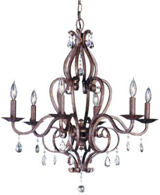 feiss 6 light chandelier - Feiss Lighting