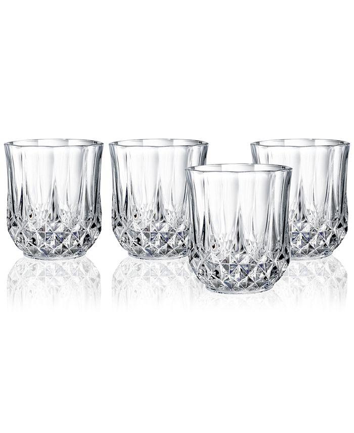 Longchamp - 4-Pc. Double Old Fashioned Glass Set