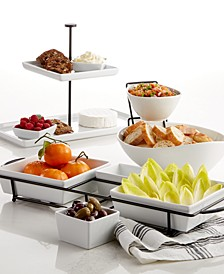 Whiteware Serveware Entertaining Collection, Created for Macy's