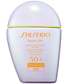 Shiseido Sports BB Broad Spectrum SPF 50+ Water Resistant Sunscreen, 30 ml.