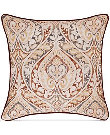 "J Queen New York Serenity Spice 20"" Square Decorative Pillow"