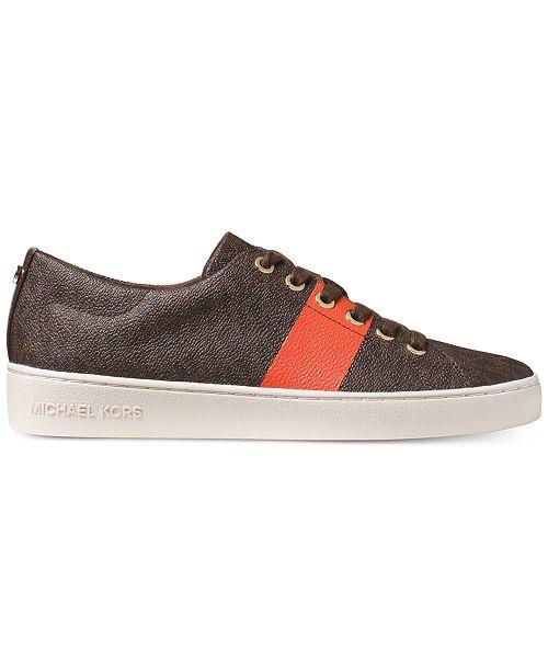 774ea716cf8 Michael Kors Keaton Lace-Up Sneakers & Reviews - Athletic Shoes ...