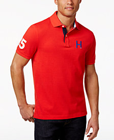 Tommy Hilfiger Men's Big & Tall Flanders H Logo Polo