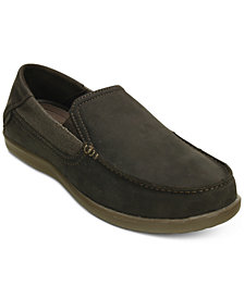 Crocs Men's Santa Cruz 2 Luxe Leather Slip-On Loafers