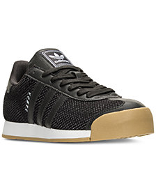adidas Men's Samoa Textile Casual Sneakers from Finish Line