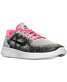 Nike Big Girls' Free Run 2 Running Sneakers from Finish Line
