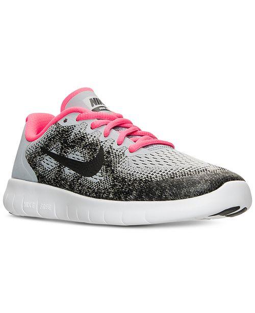 603713da713b ... Nike Big Girls  Free Run 2 Running Sneakers from Finish Line ...