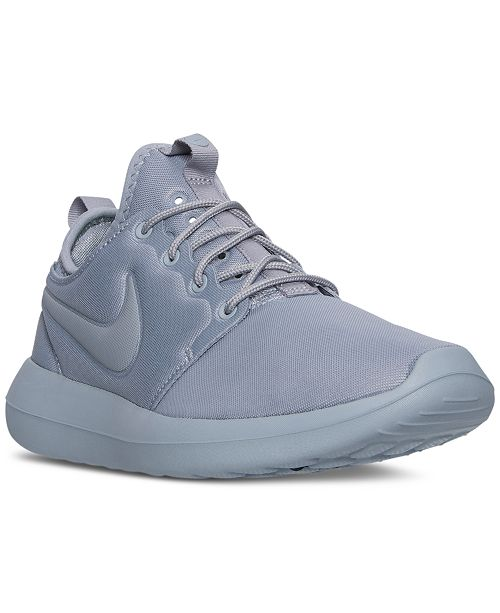 968ddf32f141 Nike Men s Roshe Two Casual Sneakers from Finish Line   Reviews ...