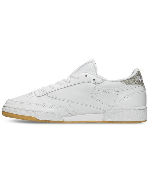 Reebok Women s Club C 85 Diamond Casual Sneakers from Finish Line ... 22643e099