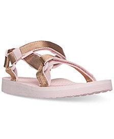 Teva Little Girls' Hi-Rise Universal Athletic Flip Flop Sandals from Finish Line