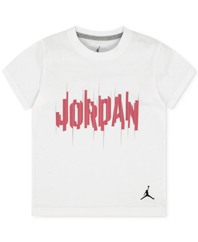 Jordan Staggered Graphic-Print Cotton T-Shirt, Toddler & Little Boys (2T-7)