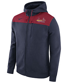 Nike Men's St. Louis Cardinals AV Full-Zip Hoodie