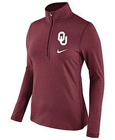 Nike Women's Oklahoma Sooners Tailgate Half-Zip Pullover