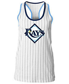 5th & Ocean Women's Tampa Bay Rays Pinstripe Tank