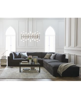 Aryanna 4-Pc. Open-Ended Modular Sectional, Created for Macy's
