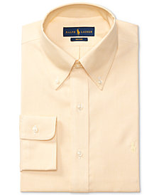 Polo Ralph Lauren Men's Classic/Regular Fit Non-Iron Solid Dress Shirt