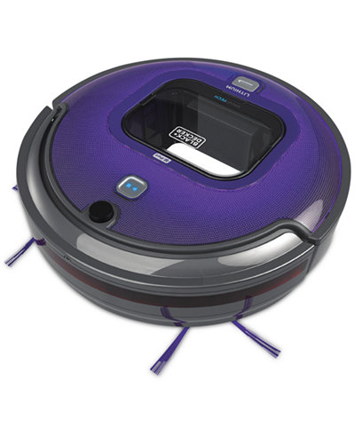 Black & Decker HRV425BLP 16V SMARTECH™ Robotic Vacuum - App Enabled
