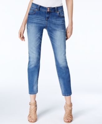 Image of INC International Concepts Curvy-Fit Cropped Jeans, Created for Macy's