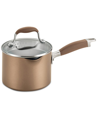 Advanced Bronze 2 Qt. Covered Saucepan by Anolon