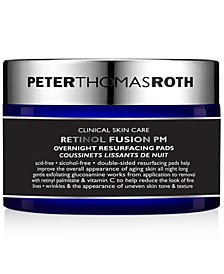 Retinol Fusion PM Overnight Resurfacing Pads