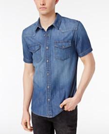Men's Denim Shirts: Shop Men's Denim Shirts - Macy's