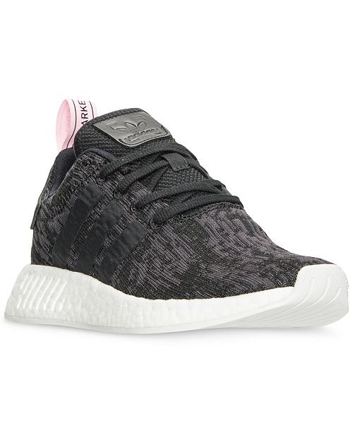 brand new fcd90 50c56 adidas Women's NMD R2 Casual Sneakers from Finish Line ...
