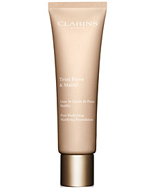 Clarins Pore Perfecting Matifying Foundation, 1 oz.