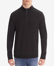 BOSS Men's Troyer Cotton Sweatshirt