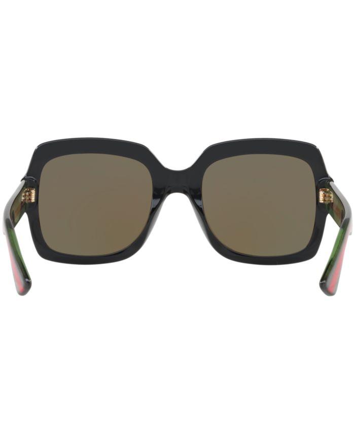 Gucci Sunglasses, GG0036S & Reviews - Sunglasses by Sunglass Hut - Handbags & Accessories - Macy's