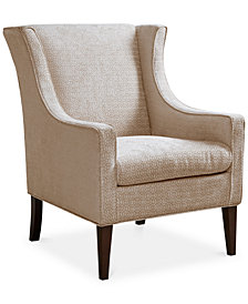 Addy Wing Chair, Quick Ship