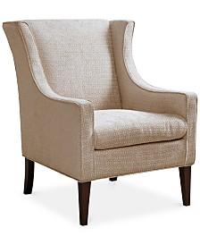 Alexandra Wing Chair, Quick Ship