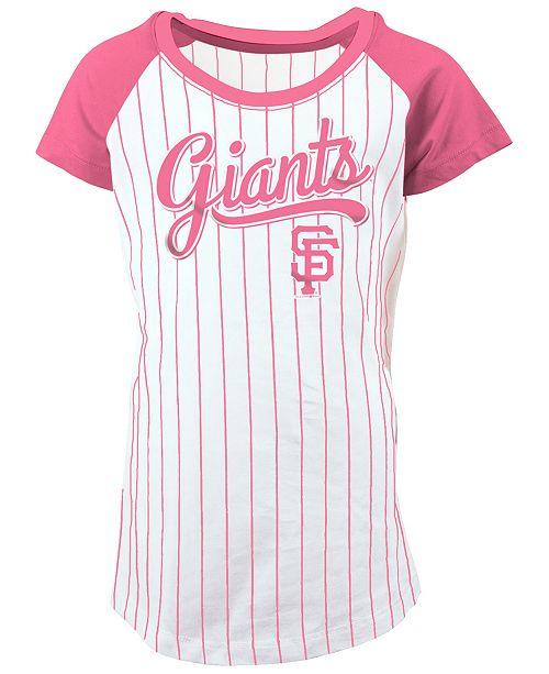 218512205b4 5th   Ocean San Francisco Giants Pinstripe T-Shirt