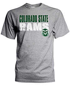J America Men's Colorado State Rams Wordmark Stack T-Shirt
