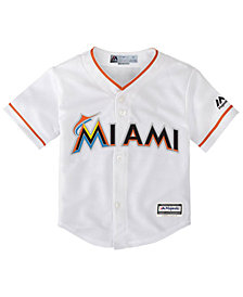 Majestic Miami Marlins Blank Replica CB Jersey, Infant Boys (12-24 months)