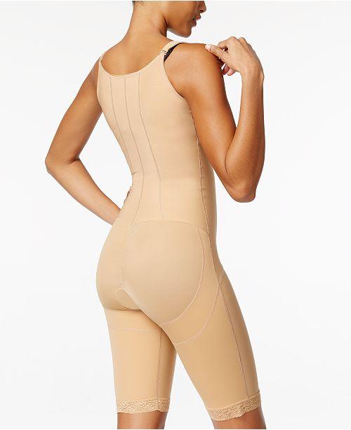 b0bdc0853 ... Leonisa Women s Extra-Firm Tummy-Control Lace-Trim Body Shaper 018490  ...