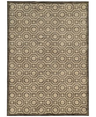 "CLOSEOUT!  Brookside Bay Grey 3'3"" x 5'5"" Area Rug"