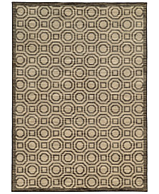 "CLOSEOUT! JHB Design  Brookside Bay Grey 3'3"" x 5'5"" Area Rug"
