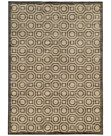 "CLOSEOUT! JHB Design  Brookside Bay Grey 9'10"" x 12'10"" Area Rug"