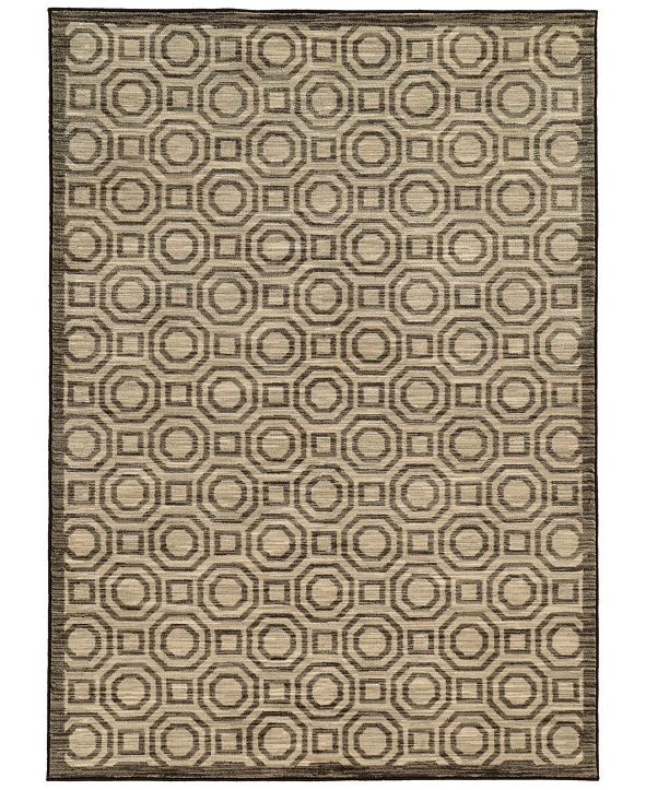 "JHB Design CLOSEOUT!  Brookside Bay Grey  6'7"" x 9'6"" Area Rug"