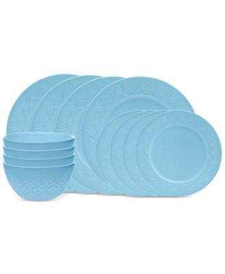 Godinger Dublin Blue 12-Piece Dinnerware Set Service for 4  sc 1 st  Macy\u0027s & Godinger Dublin Blue 12-Piece Dinnerware Set Service for 4 ...