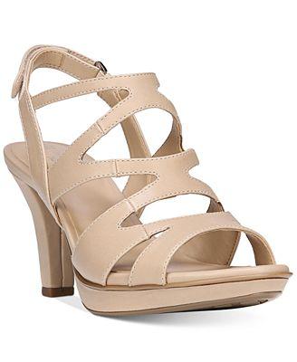 Naturalizer Pressley Sparkle Fabric Slingback Dress Sandals