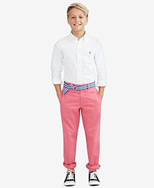 Ralph Lauren Blake Oxford Shirt & Twill Pants, Toddler, Little Boys & Big Boys