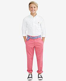 Ralph Lauren Blake Oxford Shirt & Twill Pants, Toddler, Little Boys & Big Boys