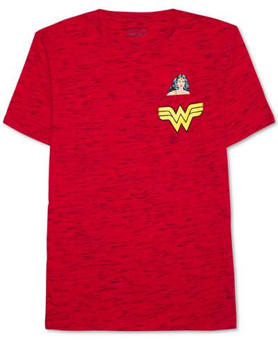 Hybrid Apparel Men's Wonder Woman Graphic-Print Cotton T-Shirt