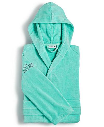 Lacoste Fairplay Cotton Bath Robe Macys - Bathroom robes