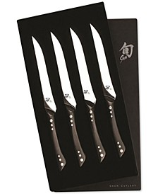 Shima 4-Pc. Boxed Steak Knife Set