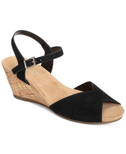 64e60fb64397 Aerosoles Cupcake Wedge Sandals   Reviews - Sandals   Flip Flops ...